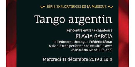Soirée des Exploratrices #2: Tango argentin billets