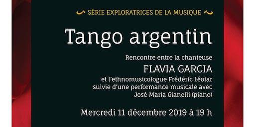 Soirée des Exploratrices #2: Tango argentin