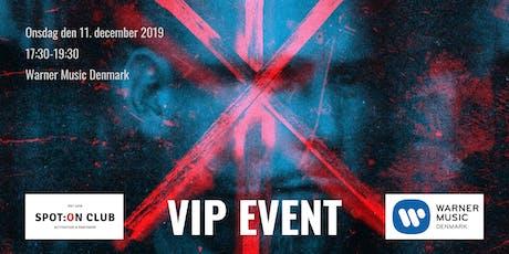 LOC & kommercielle partnerskaber - SPOT:ON Club VIP-event tickets