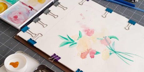Basic Watercolor Florals tickets