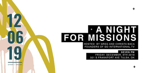 Go International Presents: A Night for Missions