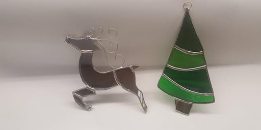 Stained Glass Christmas Ornaments Workshop #2