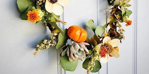 Wreaths & Succulents Making