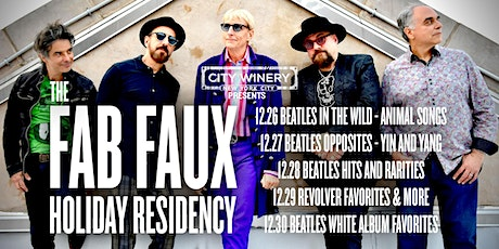City Winery Presents: The Fab Faux: Beatles Opposites - Yin and Yang tickets