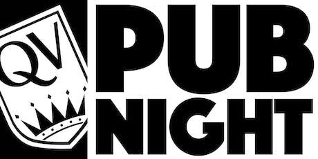 QVA Pub Night: a kid-free soiree tickets