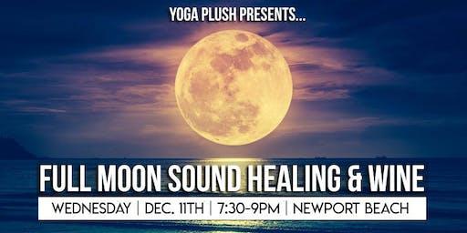 Full Moon Sound Healing & Wine