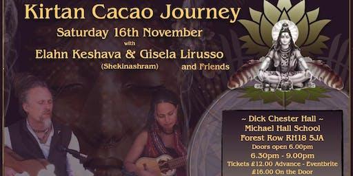 KIRTAN Cacao Journey with Elahn, Gisela, Arjun & Sunny