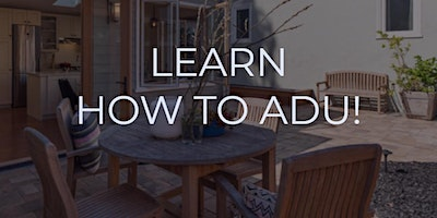 HOW TO ADU (Accessory Dwelling Unit)FINANCE. CONSTRUCT. LEASE. PROTECT. RIV