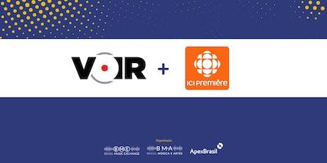 Sua música fora do Brasil: saiba tudo sobre a revista Voir e Radio Canada ingressos