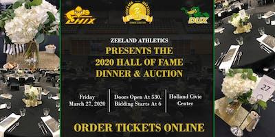 Zeeland Athletics 2020 Hall of Fame Banquet & Auction