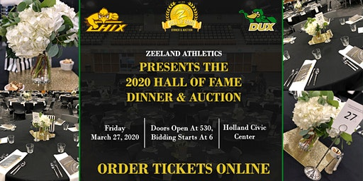 Zeeland Athletics 2020 Hall of Fame Banquet & Auction