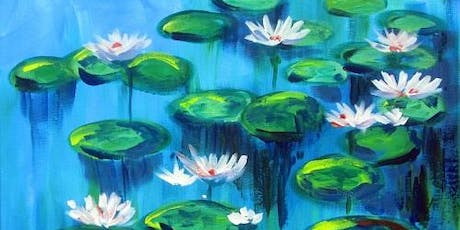 Monet's 'Water Lilies' Paint and Sip tickets