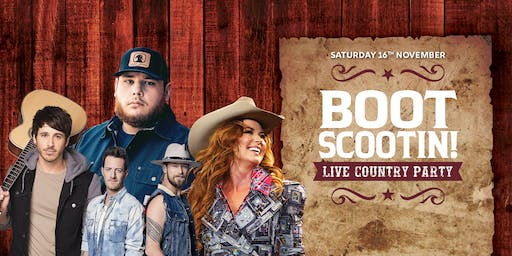 Boot Scootin! Live Country Party