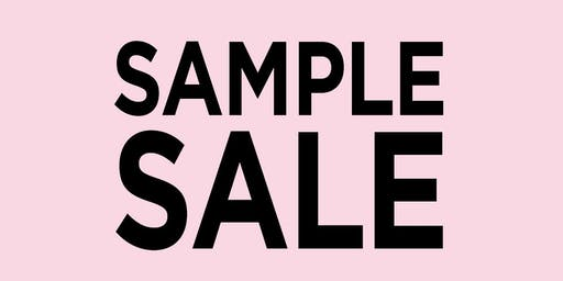 Bo Carter Sample Sale - raising money for charities