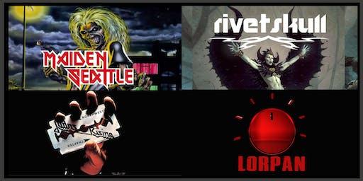 Maiden Seattle with Judas Rising, RivetSkull and LorPan