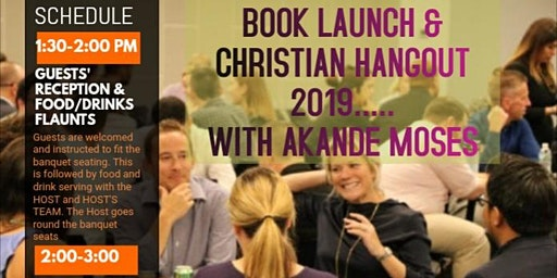 Christians Hangout  2019 & Book Launch Party