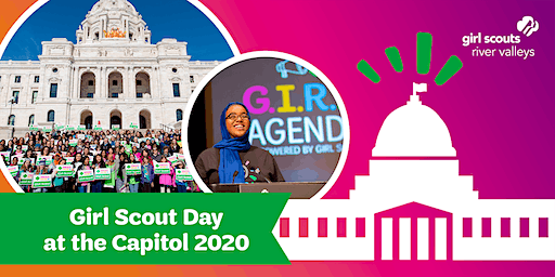 Girl Scout Day at the Capitol 2020