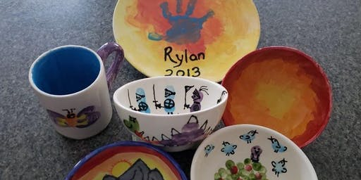 Fired Up Pottery Family Make a Gift Fundraiser