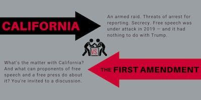 California vs. the First Amendment