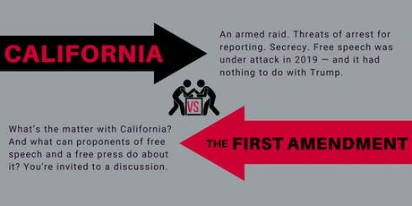 California vs. the First Amendment tickets