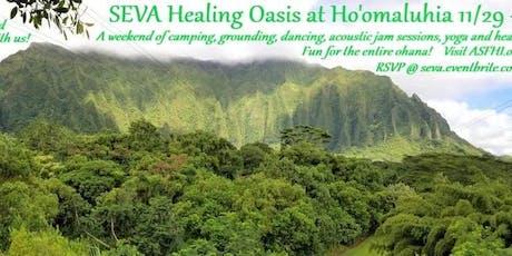 SEVA Healing Oasis tickets