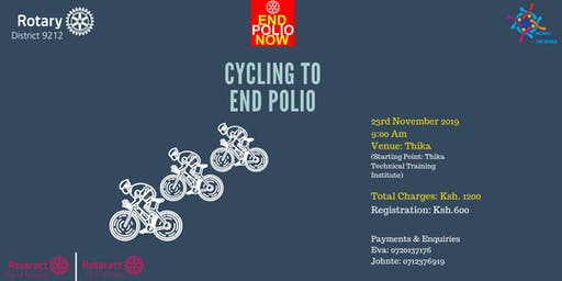 Cycling To End Polio