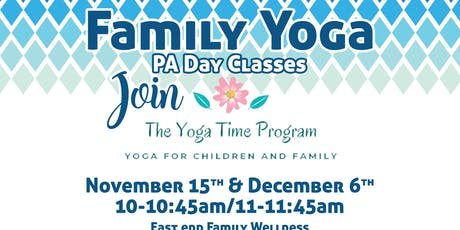 PA DAY FAMILY YOGA tickets