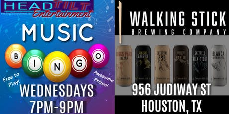 Music Bingo at Walking Stick Brewing Company - Houston, TX tickets
