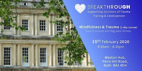 Breakthrough Training -- Mindfulness & Trauma tickets