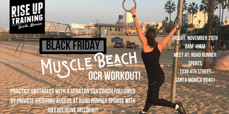 Black Friday Muscle Beach OCR Workout tickets