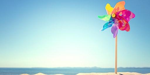 Giant Summer Pinwheels - School Holiday Program