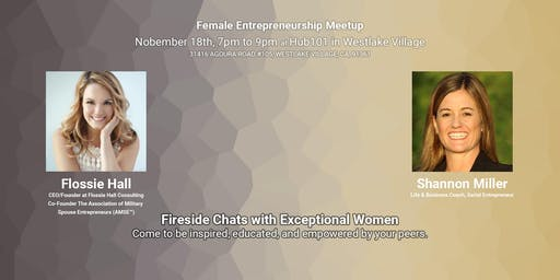Female Entrepreneurship Meetup - A Fireside Chat with Flossie Hall
