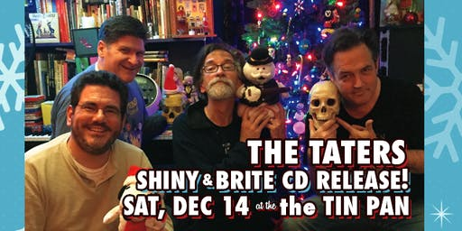 A Shiny & Brite Taters Christmas CD Release Party
