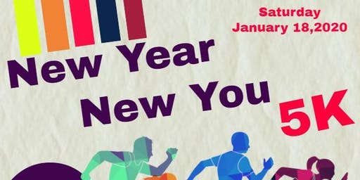 IT's A NEW YEAR 2020 & A NEW YOU! Fun 5K Walk/RUN.....