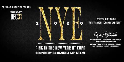 NYE 2020 at Copa Nightclub Palm Springs