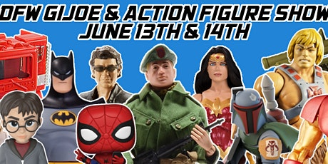 DFW GI Joe and Action Figure Show 2020 tickets