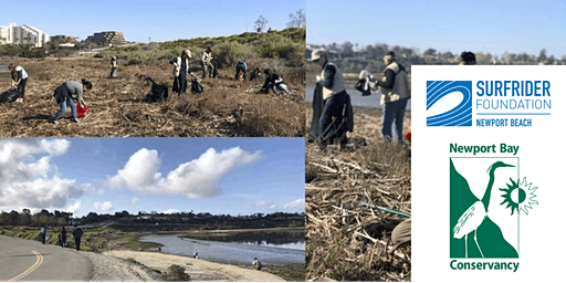 4th Sunday Cleanup Crew w/Surfrider Foundation, Newport Beach