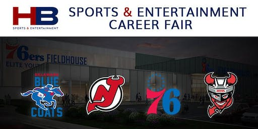 Harris Blitzer Sports & Entertainment Career Fair  (by Delaware Blue Coats)