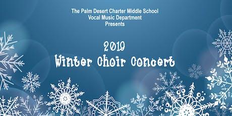 2019 PDCMS Winter Choir Concert tickets