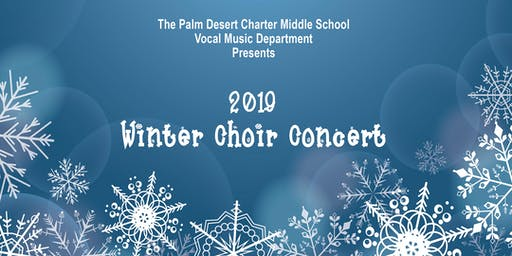 2019 PDCMS Winter Choir Concert