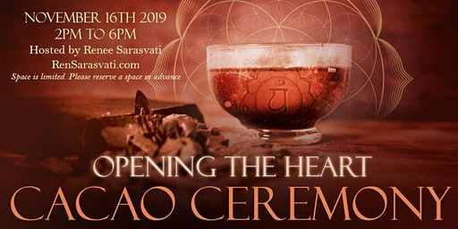 Opening The Heart Cacao Ceremony Nov 16th