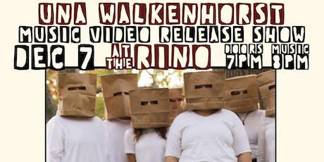 Una Walkenhorst Music Video Release with Brent Windler & Sex Ed tickets