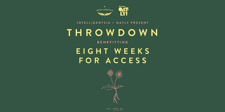 Latte Art Throwdown Benefitting Eight Weeks for Access tickets