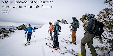 Backcountry Basics at Homewood tickets
