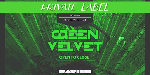 Private Label: Green Velvet - Open To Close Set