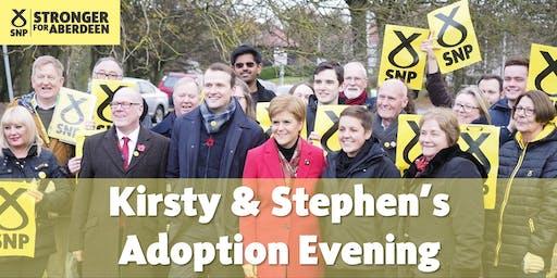 Aberdeen SNP Candidate Adoption Evening