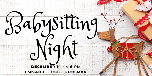 Babysitting Night at Emmanuel UCC!