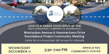 Montauban Avenue & Hammertown Drive Roundabout Community Meeting tickets