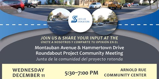 Montauban Avenue & Hammertown Drive Roundabout Community Meeting