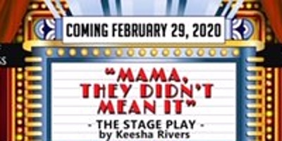 """ ****, They Didn't Mean It"" Stage Play!"